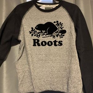 Roots salt n pepper crew sweater